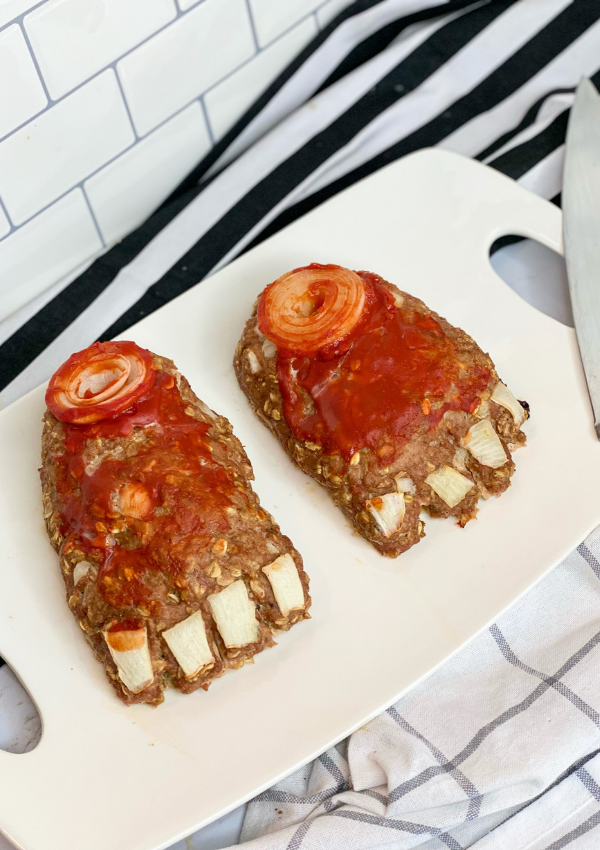 Frankenstein's Foot Meatloaf